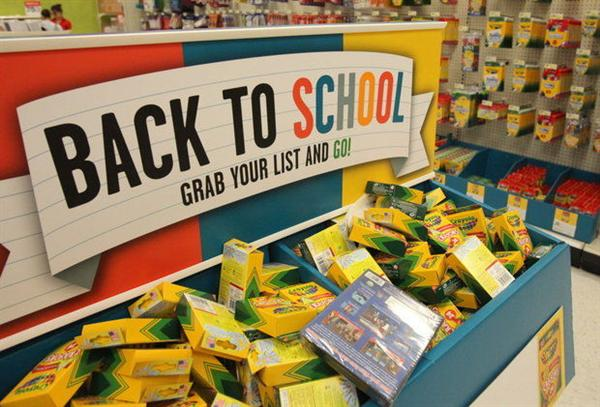 State tax holiday on back-to-school purchases
