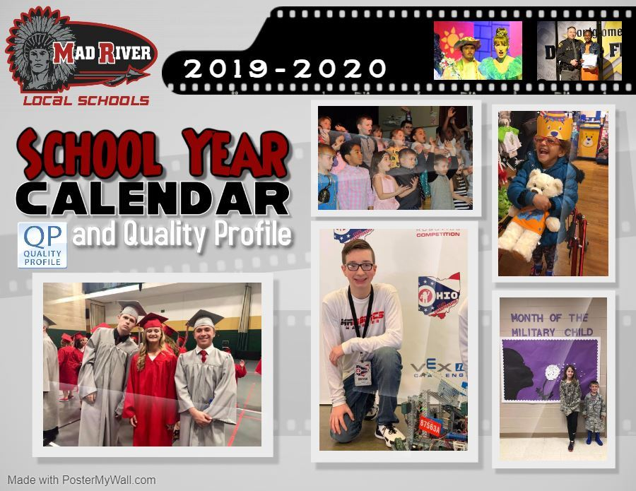 2019-20 District Calendar & Quality Profile