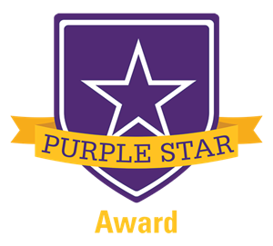 Mad River is now recognized as a Purple Star District-one of only a handful of districts recognized.
