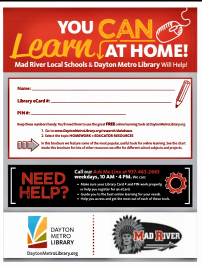 Homework Help Tools from the Dayton Metro Library