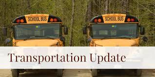 No Special Transportation Requests for the first 30 days of school for the